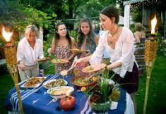 Hosting a dinner party or barbecue can involve considerable time, effort and expense. Be sure to follow up with a thank you.
