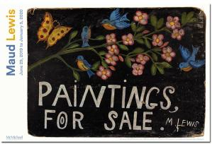 Maud Lewis's artwork lights up the McMichael Gallery in Kleinburg