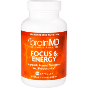 Brainmd Focus And Energy Memory  Improvement Supplements