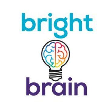 Bright Brain Logo Vertical