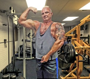 Me at 60 in my basement gym