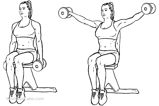 two arm raises