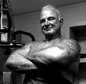 Brian Patterson arms folded