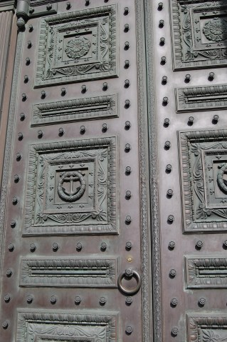 Door of Old Stone Bank