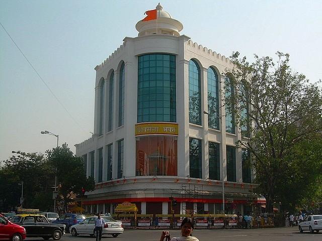 Shiv Sena Bhavan was the original target in Dadar during the 1993 blast.