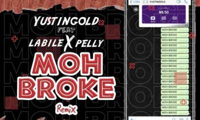Mp3 Download: Yustingold Ft. Labile & Pelly – Moh Broke (Remix)