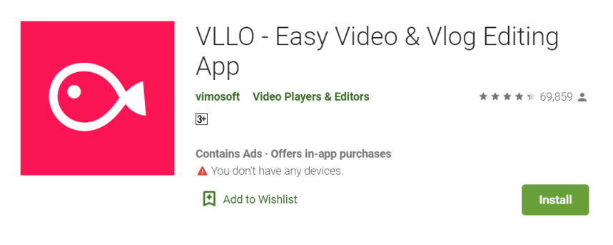 VLLO Video Editor for PC
