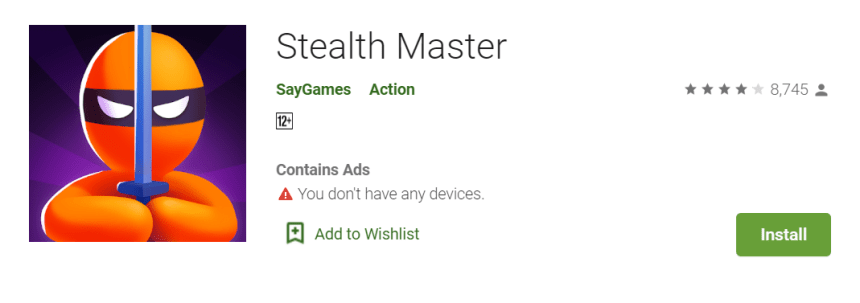 Stealth Master for PC