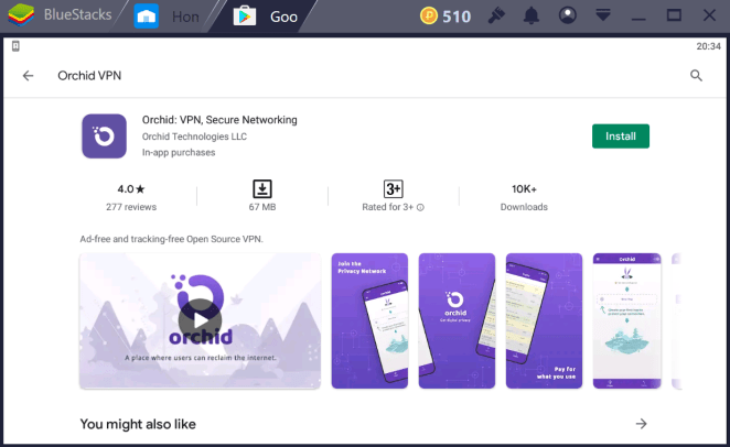 Orchid VPN for PC