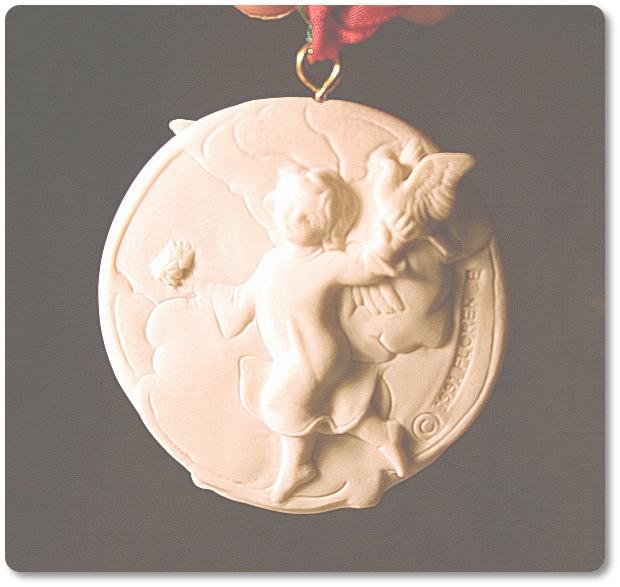 G. Armani 1991 Christmas Ornament