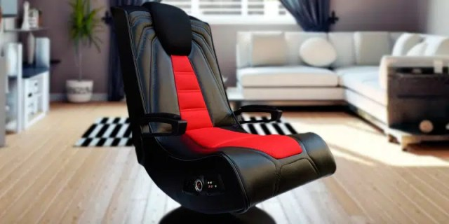 X Rocker 51092 Spider 2.1 gaming chair with speakers