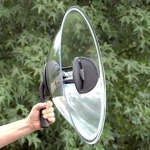 Mono Stereo Parabolic Microphone