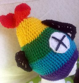 Adult dead fish hat for Pride