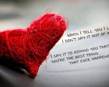 "Beautiful Quotes Love sayings ""I Love You"", the Heart Stopped Ever."