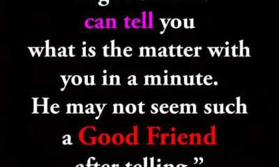 Good Friend telling You happen Before, Not After Sayings - Best Friends Quotes