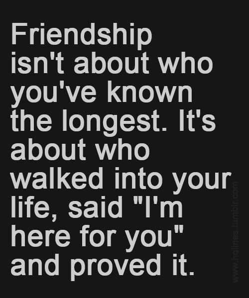 I\'m here for You and Prove It - Best Friend Quotes ...