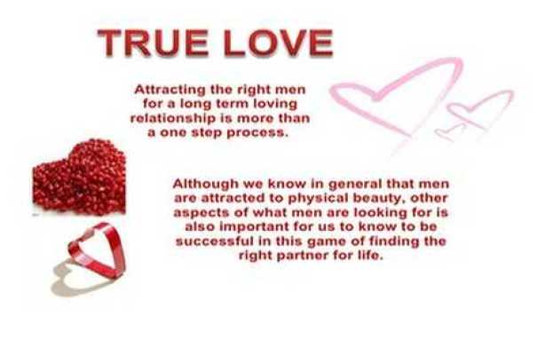 How To Find Attract And Keep Right Person True Love Quotes