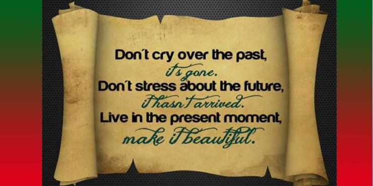 Inspirational Thoughts Don't Cry Over The Past About Life Quotes Adorable Inspirational Thoughts