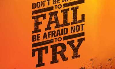 Dreams Sayings and Dreams Quotes 'Don't be Afraid to Try life quotes