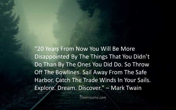 Dreams Quotes About Life Dream Discover Mark Twain Quotes