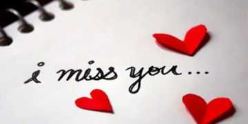 Inspirational love quotes and love sayings I Miss you short quotes about love