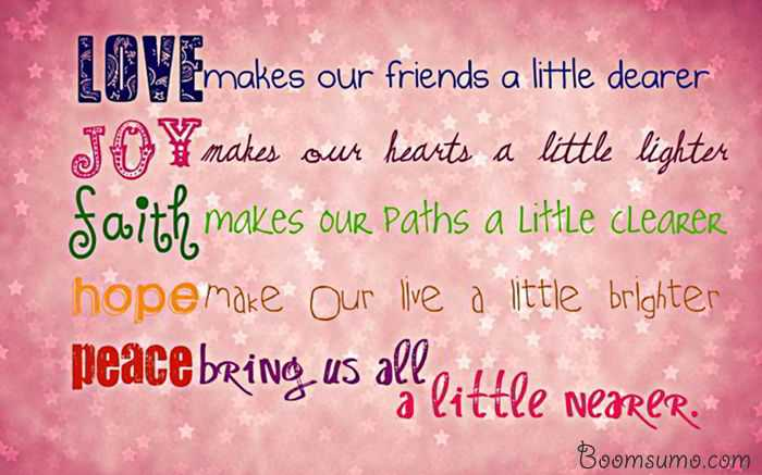 Inspirational Quotes About Love U0027Bring Us Little Nearer, Life Love Quotes