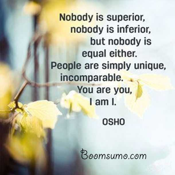Osho Quotes | Osho Quotes About Life People Are Simply Unique Life Quotes