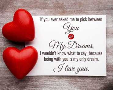 famous love quotes sayings about love You and My Dreams I love You