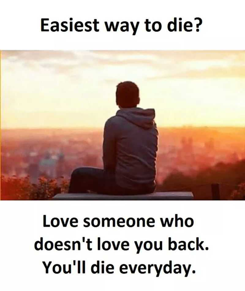 Pain And Life Quotes: Sad Love Quotes Easy Way To Die? Life And Pain Depressed