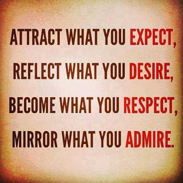 daily inspirational quotes mirror what you admire inspirational