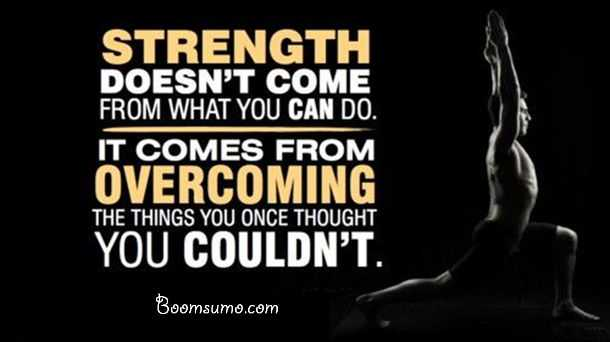 Famous inspirational thoughts about strength quotes once thought you Couldn't good quotes