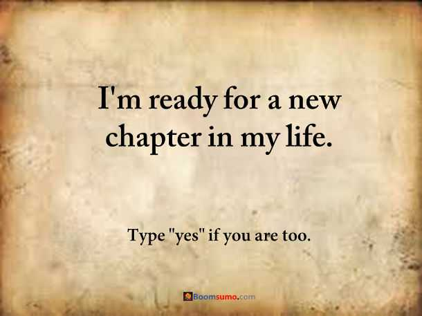 Quotes About New Life Fascinating How To Move On And Starting A New Chapter In Life  Boomsumo Quotes