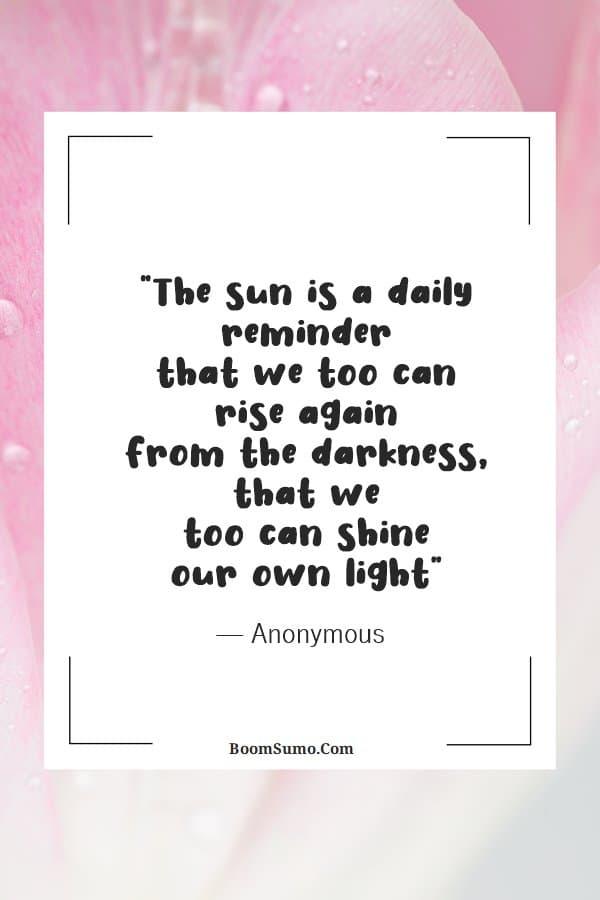 Short positive quotes about encouragement