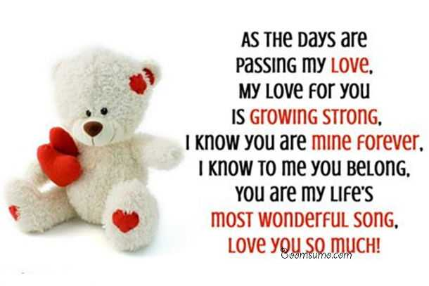 Beautiful Love Quotes Forever 'I Love You So Much