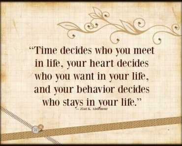 inspirational quotes about life Time Decides positive life quotes inspirational sayings