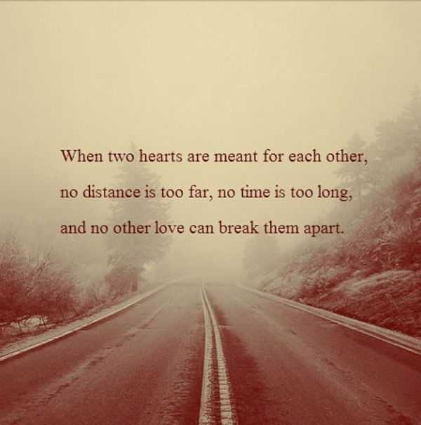 distance quotes love