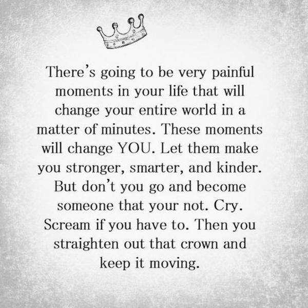 Positive Uplifting Quotes For Difficult Times to Make Crown, Keep
