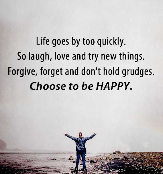 Inspirational Life Quotes Positive Sayings Choose To Be Happy Life