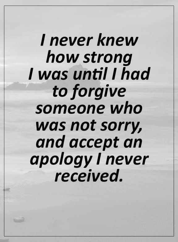 Positive Life Quotes I Never Knew How Strong I Was Until Forgive Amazing Strong Quotes About Life
