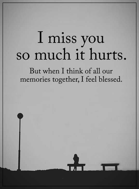 Sad life Quotes about Inspirational So much It hurts I Miss You