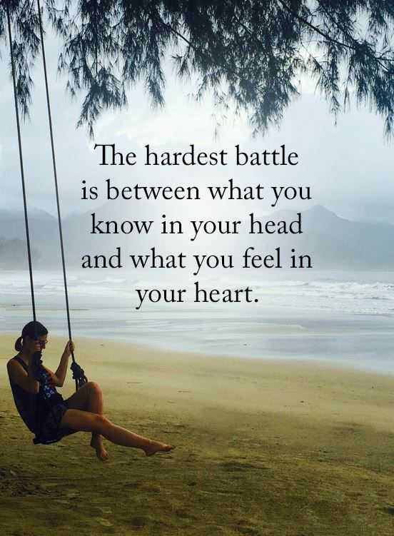 Inspirational Life Quotes What You Know Hardest Battles Between Your
