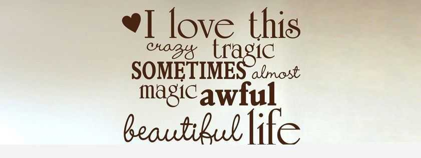 Love Quotes: I Love This Magic Beautiful Life Love Phrases