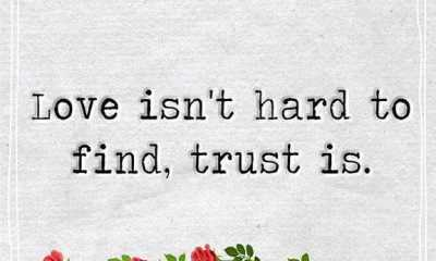 Best Love Quotes about love Why love Not Find to Hard, Trust only