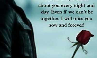 Best Sad love Quotes about love I miss You When You Far Away