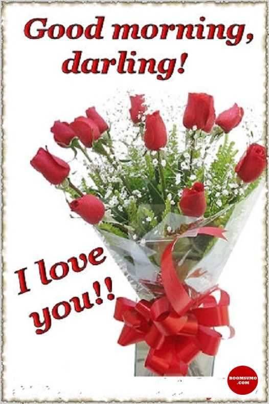 Elegant Good Morning Quotes: Good Morning Love Images Darling, I Love You