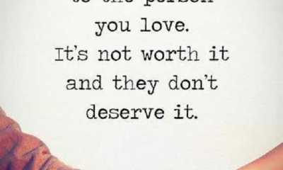 Inspirational Life Quotes Never Lie The Person You Love,