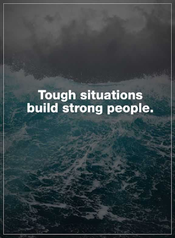 Strong Life Quote Awesome Inspirational Life Quotes Positive Thoughts Tough Situations How