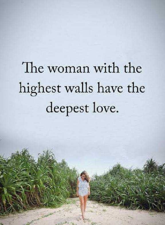 Inspirational Love Quotes About Life Deepest Love The Woman With