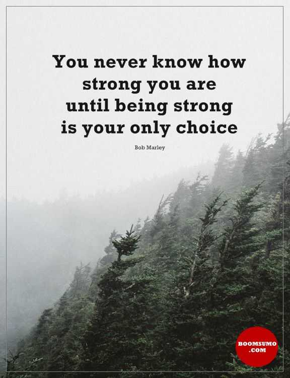 Inspirational Quotes About Strength Dont Know How Strong You Are