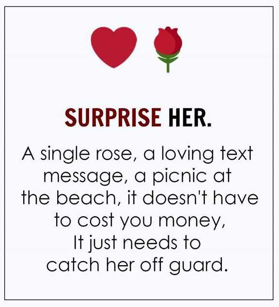 Love Quotes Of The Day: Love Sayings U0027Surprise Her Single Rose, Loving It